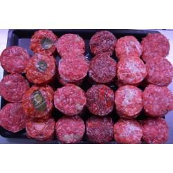 Mini hamburguesas de sabores